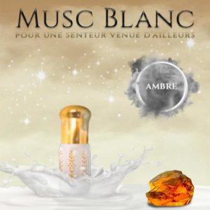 Musc tahara aromatisé ambre