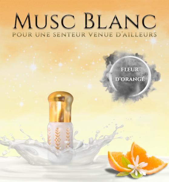 Musc Tahara Fleur d'Oranger